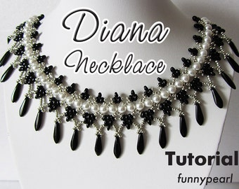 Necklace Diana. Tutorial PDF