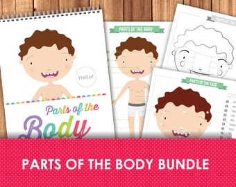 Parts of the Body Worksheets