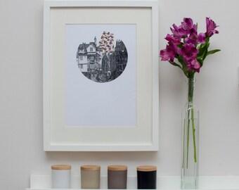 The Royal Mile - Edinburgh Digital Print