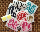 Monogram Mix and Match Surprise Pack - Get up to 40 monogram decals in a variety of colors and patterns!