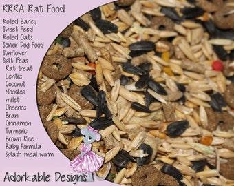 Rat food Diet, Homemade Rat diet, rat Food, RRRA Rat Food, Grain mix, no seeds, pet food, perfect rodent diet