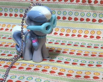 My Little Pony : Silver Spoon necklace
