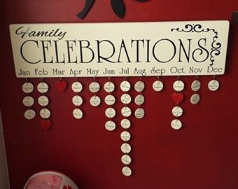 Family Birthday Boards: Style 5