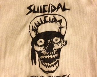 Suicidal Tendencies baby Onesie