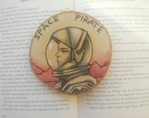 Wall Hanging Space Pirate , inspiriered by The Martian