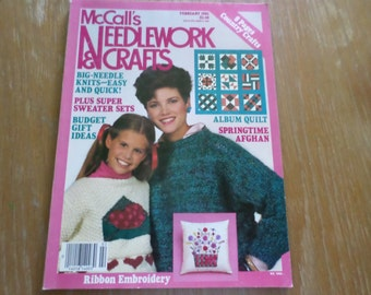 McCall's Needlework & Crafts February 1985