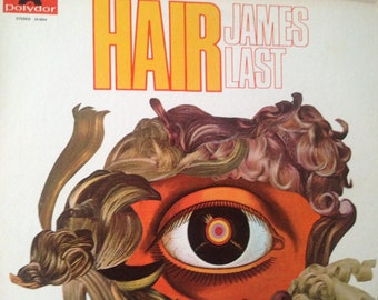 James Last - Hair - vinyl record