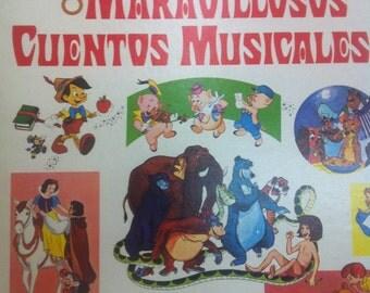 8 Maravillosos Cuentos Musicales - Walt Disney