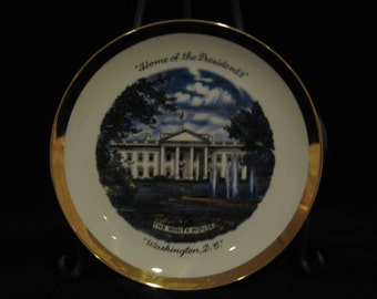 White House collector plate