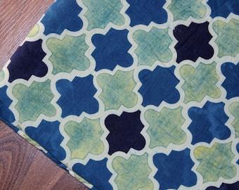 Retro Ajrakh Hand Block print cotton Organic Vegetable Dye Cotton fabric by yard Indian Fabric Block print fabric cottonrobe womens clothing