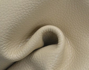 "Tan Leather Cow Hide 8"" x 10"" Pre-cut 4 1/2 ounces TA-36897 (Sec. 3,Shelf 4,D)"