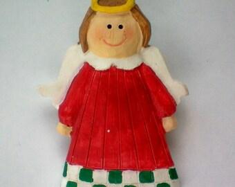 Christmas or Holiday Angel Pin - 4142