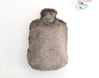 Canadian Bear | Hot Water Bottle Cover | Faux Fur