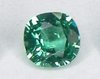5 PCs Oval Cut 7x5 mm Nanocrystal Emerald Simulated Gem Lab Created Lab Corundum Loose Gemstone