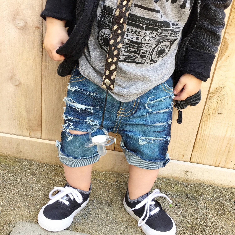 The Benji Shorts baby boy shorts baby shorts by CurlyQsCounter