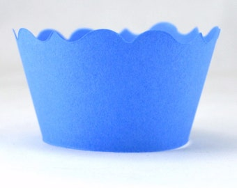 Powder Blue Cupcake Wrapper