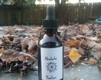 Herbal Headache Tincture 2 oz.