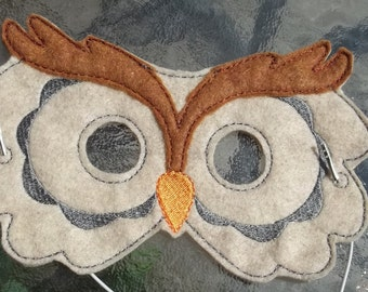 Woodland Animal Owl Mask Forest Animal Pretend Play Teach Learn Educational Imagination Story Time Play Along Home School Montessori Library