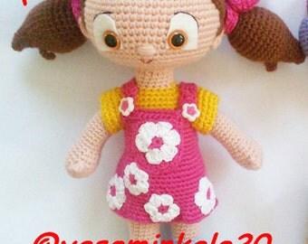 amigurumi doll pattern Niloya
