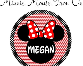 Minnie Mouse Iron On