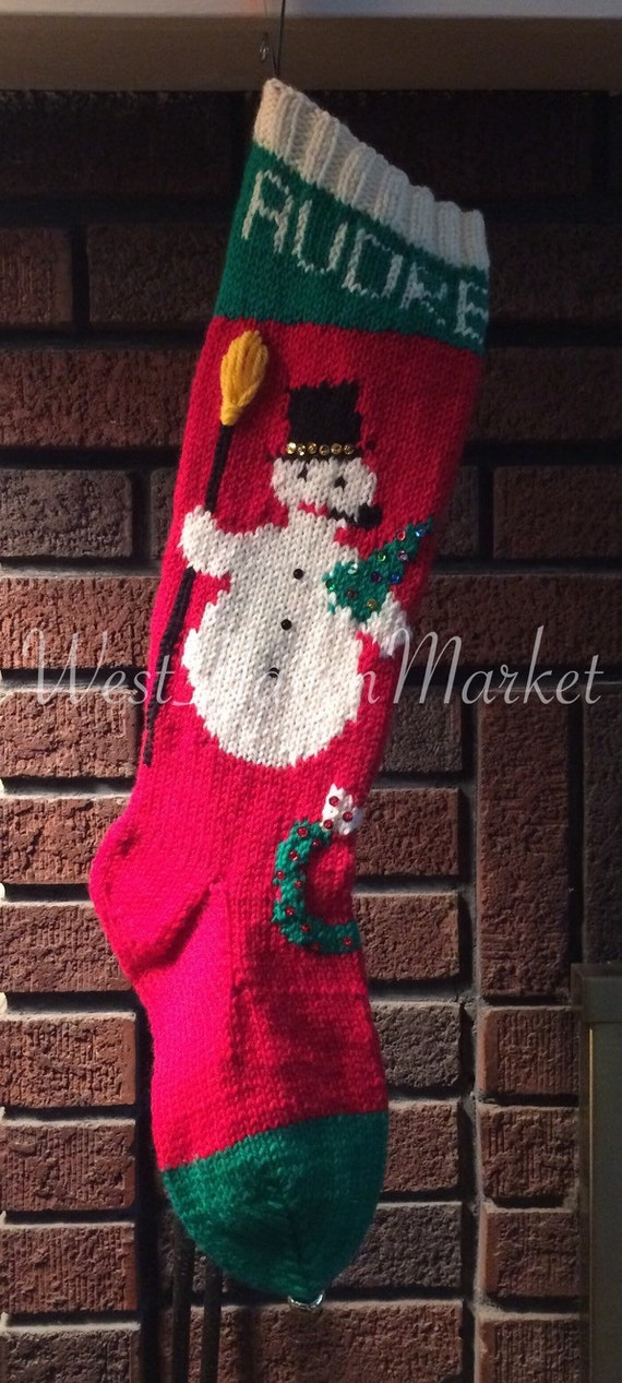Knitted Christmas Stockings Kits - knitted christmas stocking ...