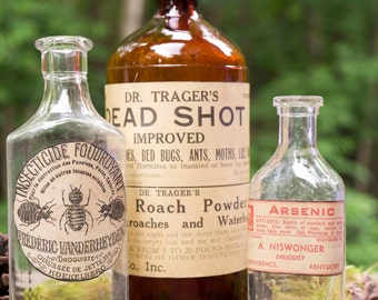 "Vintage Apothecary Collection - ""Dead Shot Collection"""