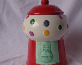 COOKIE JAR ~  Bubble Gum Machine