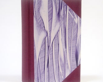 The Scribe - Deluxe Springback Journal with Ruled Pages - Merlot & Aubergine