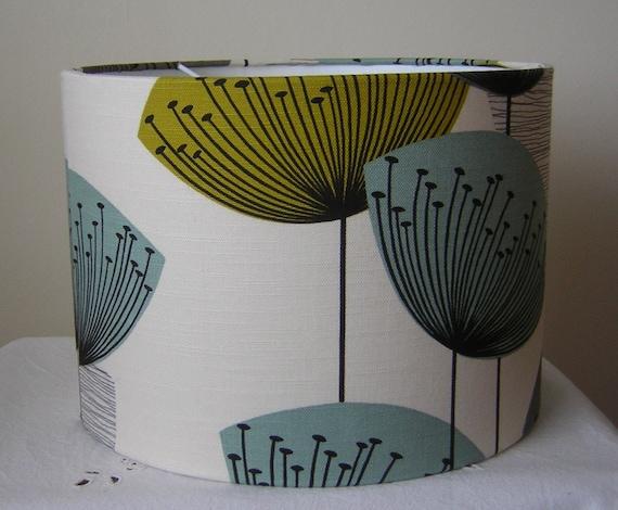 Handmade Lightshade - Sandersons - Dandelion Clocks - Chaffinch