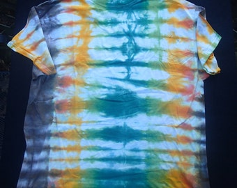 Men's X-Large Tie-Dyed T-Shirt