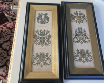 COAT OF ARMS Wall Hangings