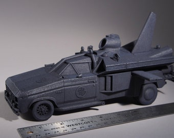 Buckaroo Banzai Jet Car 1:25 3D Printed Model