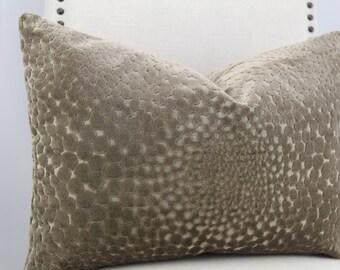 Designer velvet.12x20.12x18, pillow cover,throw pillow,accent pillow,decorative pillow,lumbar pillow.same fabric on front and back.