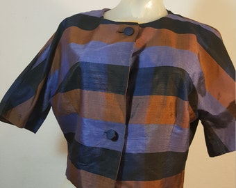 FREE SHIPPING  Vintage Christian Dior Silk Jacket
