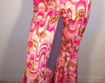FREE  SHIPPING  1960 Psychedelic Mod Pants
