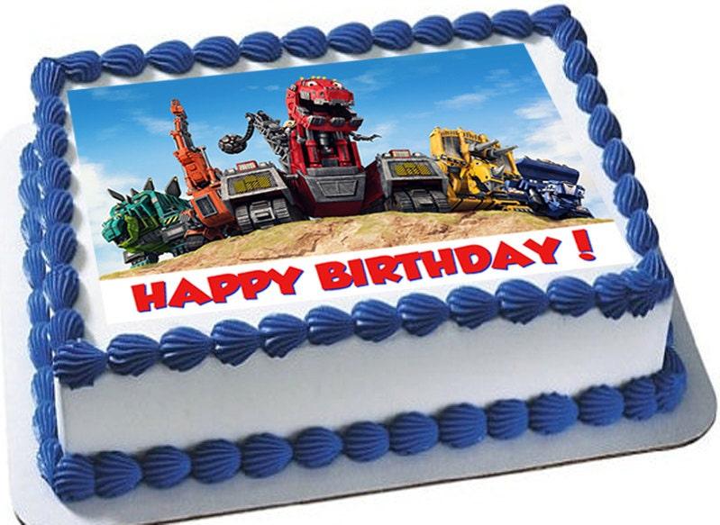 Dinotrux Cake Topper
