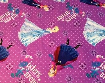 Frozen Fabric - Disney Licensed Cotton Fabric