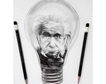 Original Einstein Light Bulb