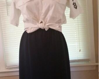 Retro US Navy Uniform Shirt