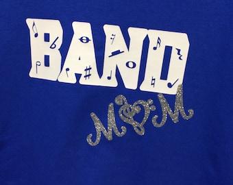 Band Mom Marching Band Mom shirt, Free Shipping!