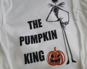 The Pumpkin King bodysuit