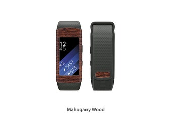 Samsung Gear Fit2 Wrap DECAL Sticker Skin Kit Wood series by Stickerboy - Set 2