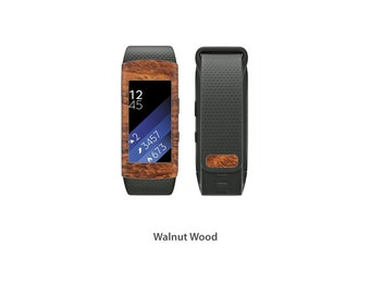 Samsung Gear Fit2 Wrap DECAL Sticker Skin Kit Wood series by Stickerboy - Set 4