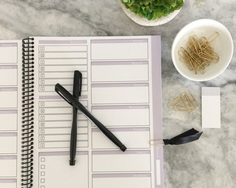 PRINTABLE PLANNER: Weekly Planner with Blog and Social Media Organizer - Weekly To Do List - Instant Download - 10 Planner Pages
