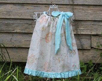 Ruffle Bottom Pillowcase Dresses