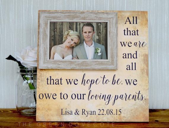 Wedding Presents For Parents Uk : to Wedding Gift For ParentsParents Wedding Thank You GiftParents ...