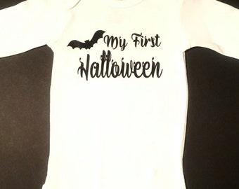 My 1st Halloween. My First Halloween, Halloween Baby Bodysuit