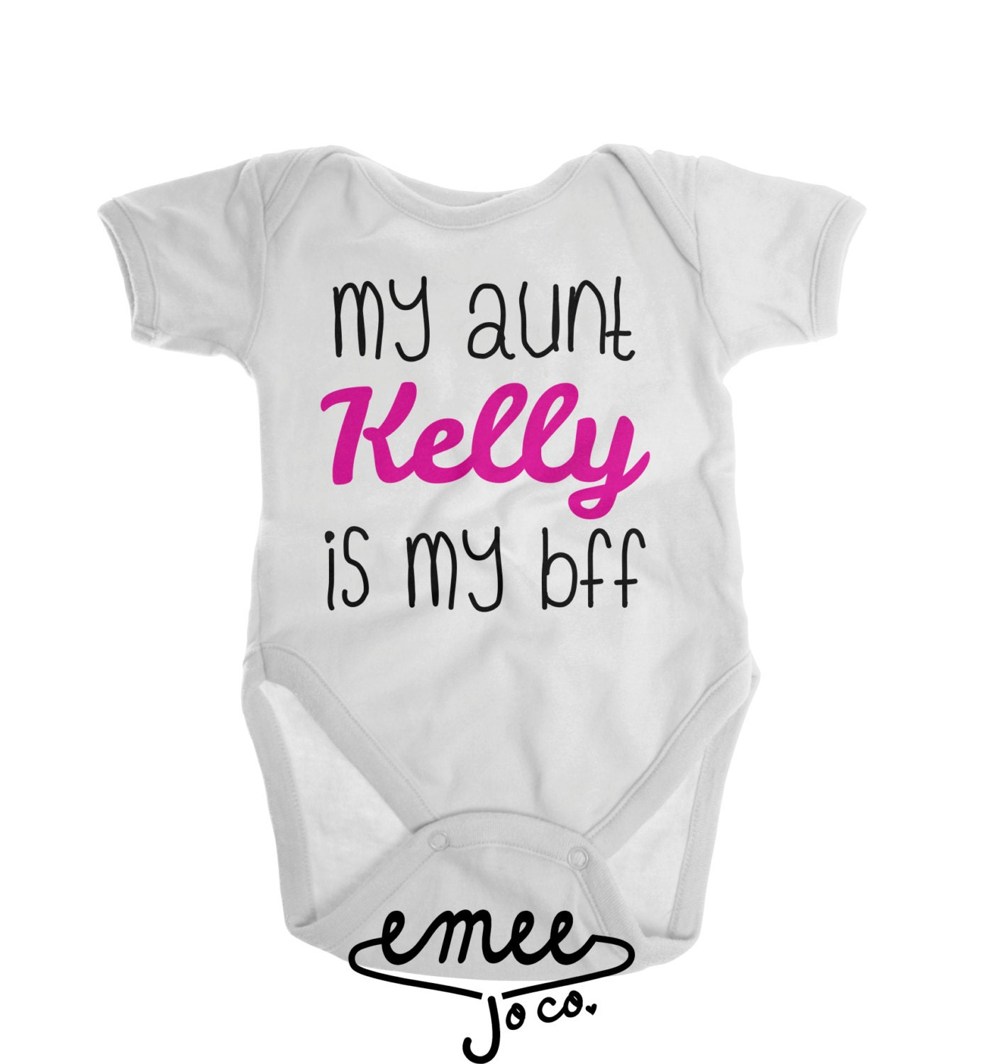 Aunt Baby Clothes Aunt Baby Announcement Best Friend By