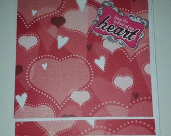 Valentine's Day Flip and Fold Mini Album