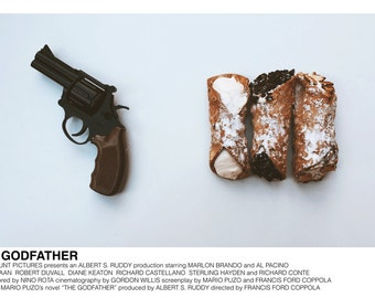 The Godfather (Francis Ford Coppola, 1972) [alternative movie poster; minimalist movie poster]